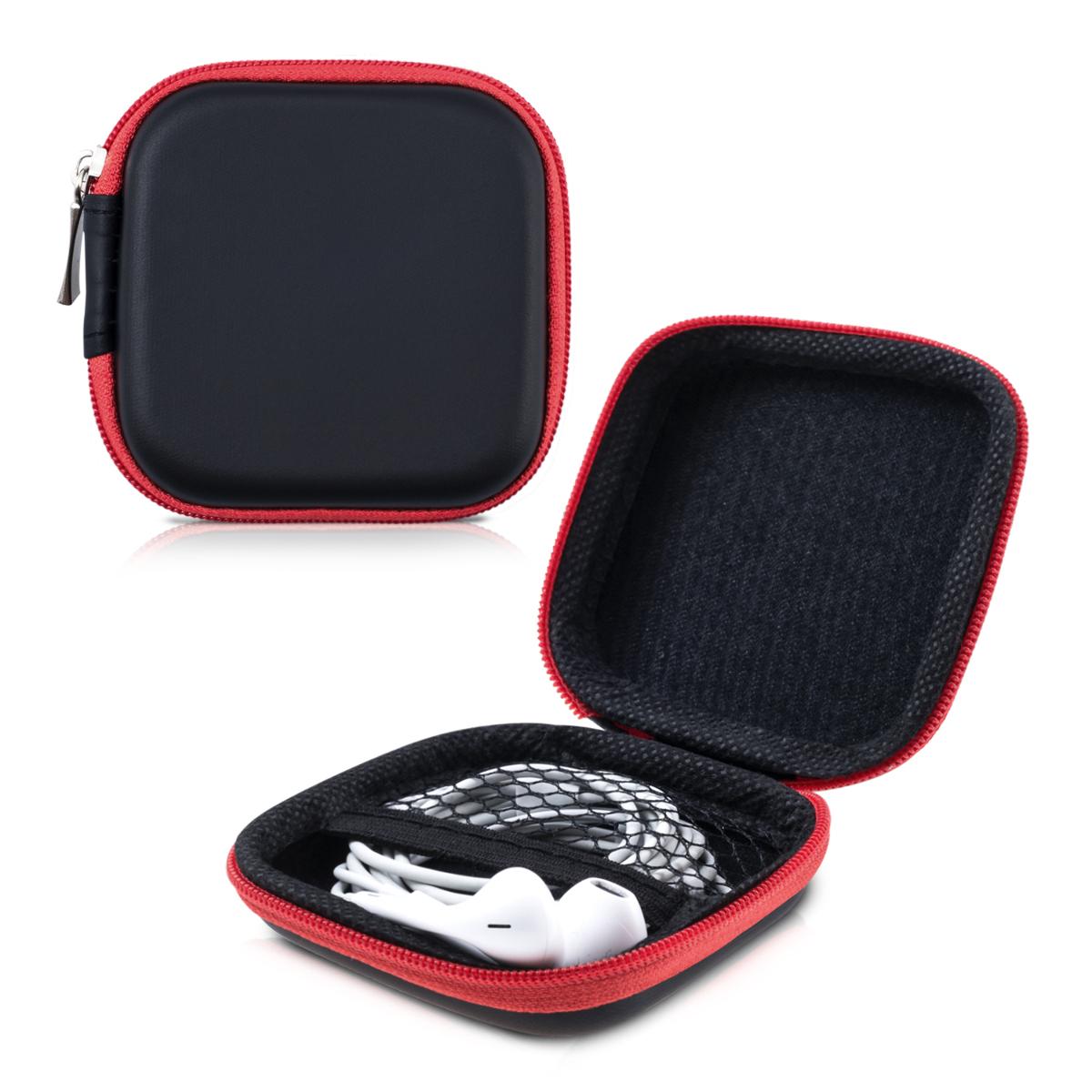 Kwmobile hard case estuche para auriculares protecci n - Auriculares de proteccion ...