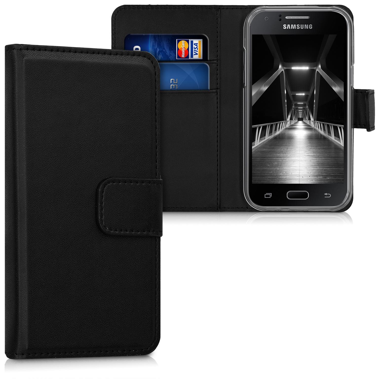 Kožené pouzdro pro Samsung J1 (2015) - černé