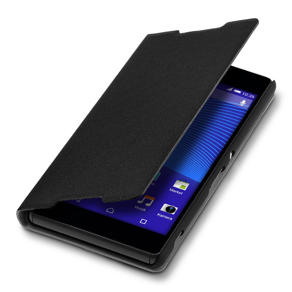Kvalitní plastové pouzdro | obal pro Sony Xperia Z3+ - černé