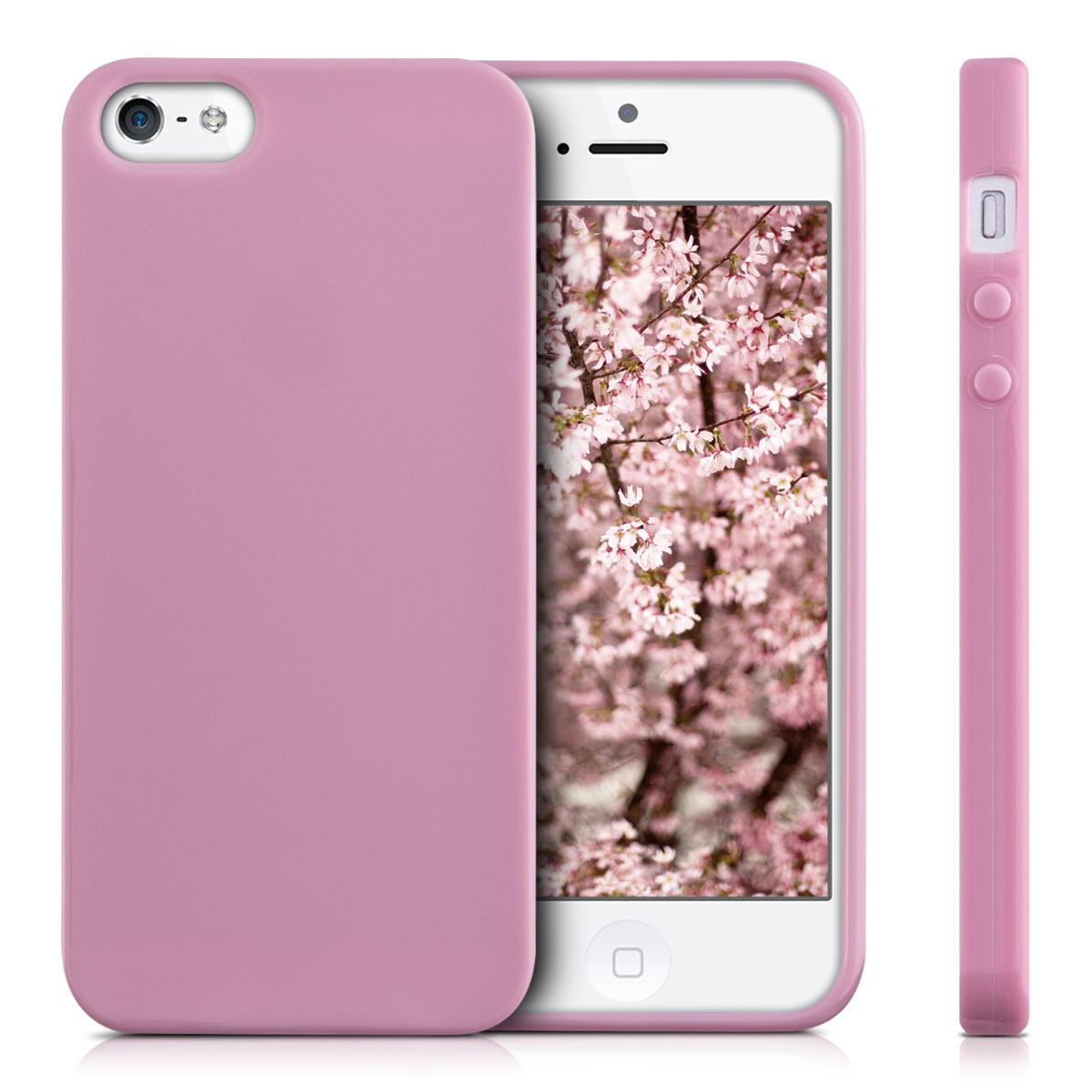 Kwmobile funda de tpu silicona mate para apple iphone se 5 5s carcasa ebay - Fundas de silicona para iphone 5 ...