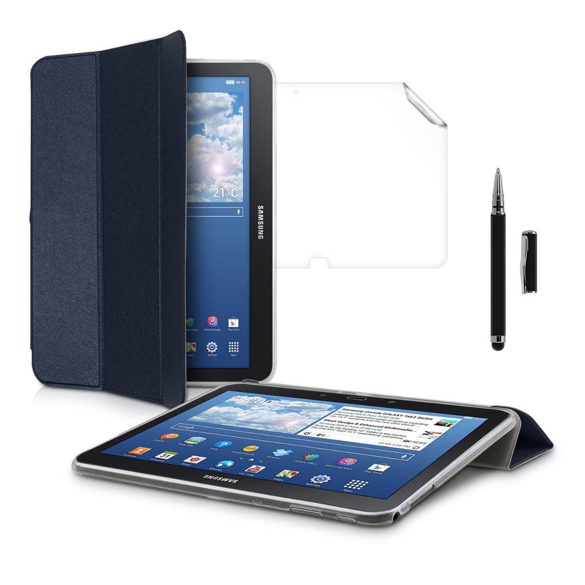 Kwmobile funda protectora para samsung galaxy tab 4 10 1 - Funda protectora tablet ...