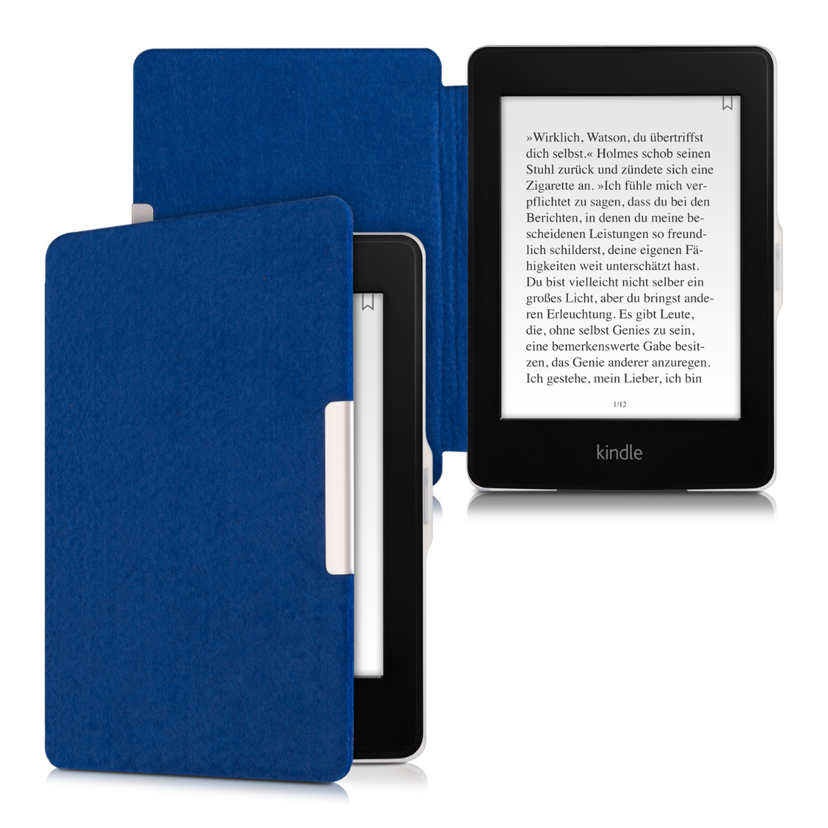 kwmobile case for amazon kindle paperwhite ebook