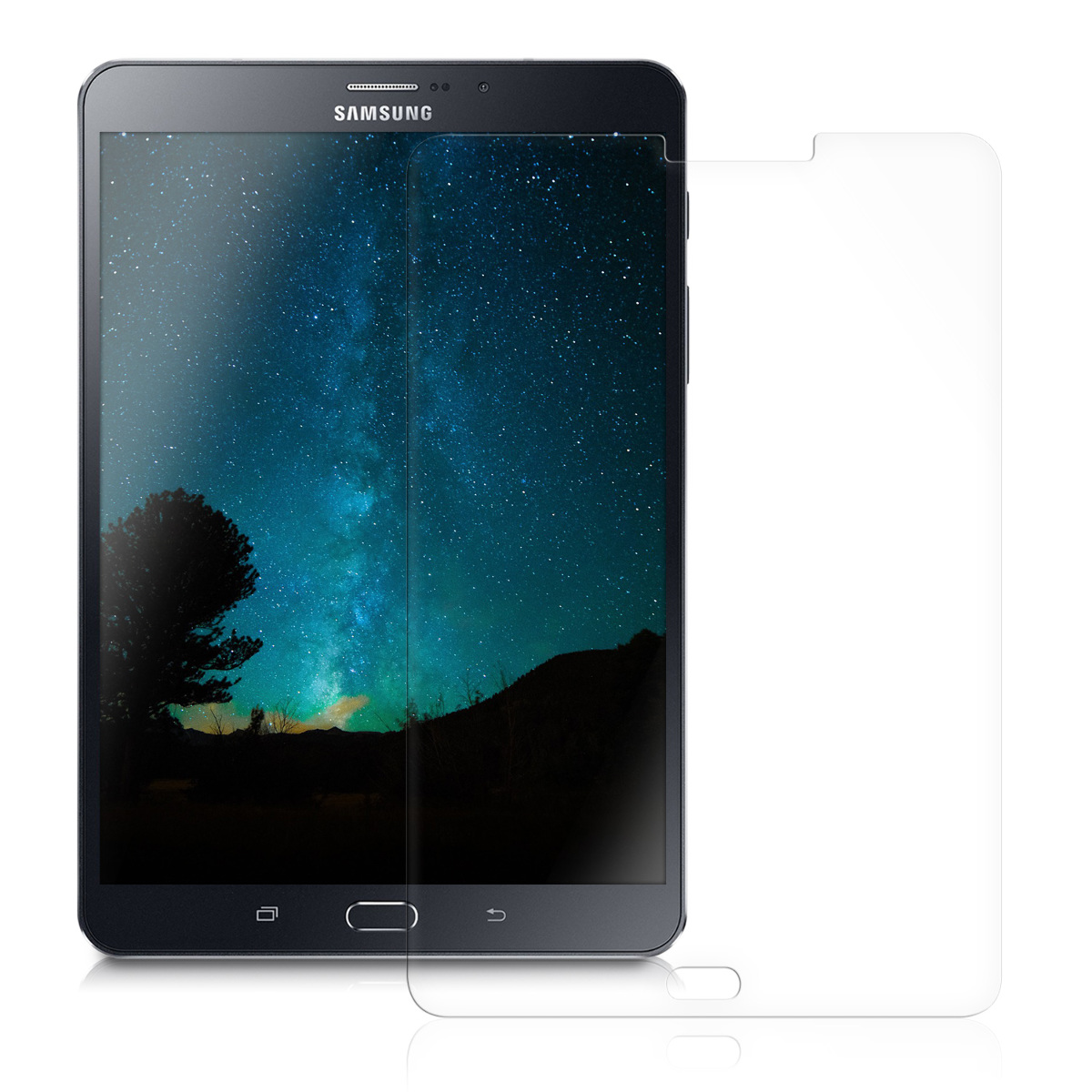 kwmobile screen protector for samsung galaxy tab s2 8 0 t715n display film ebay. Black Bedroom Furniture Sets. Home Design Ideas