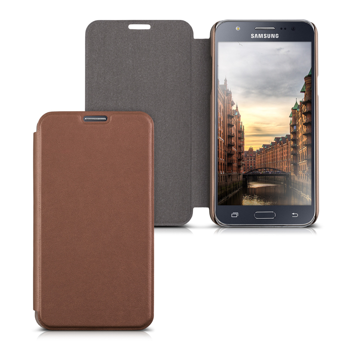 flip cover for samsung galaxy j5 2015 case slim back shell hard mobile phone ebay. Black Bedroom Furniture Sets. Home Design Ideas