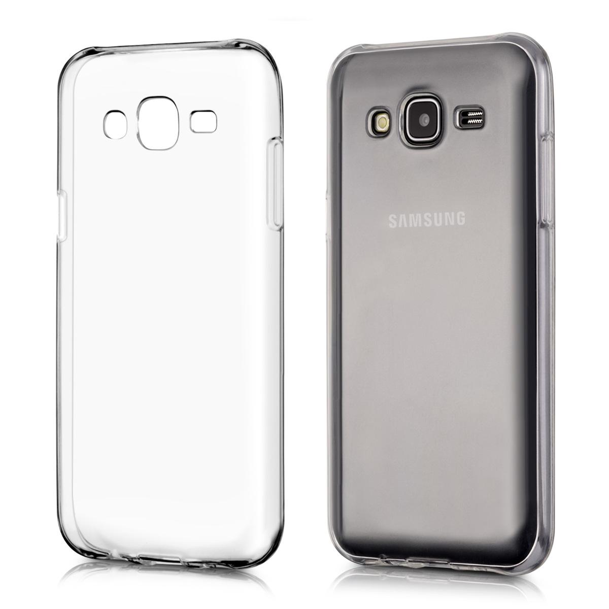 Kvalitní silikonové TPU pouzdro pro Samsung J5 (2015) - průhledné