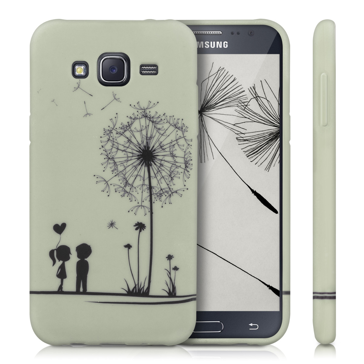 kwmobile tpu silicone case for samsung galaxy j5 2015 desired colour soft. Black Bedroom Furniture Sets. Home Design Ideas