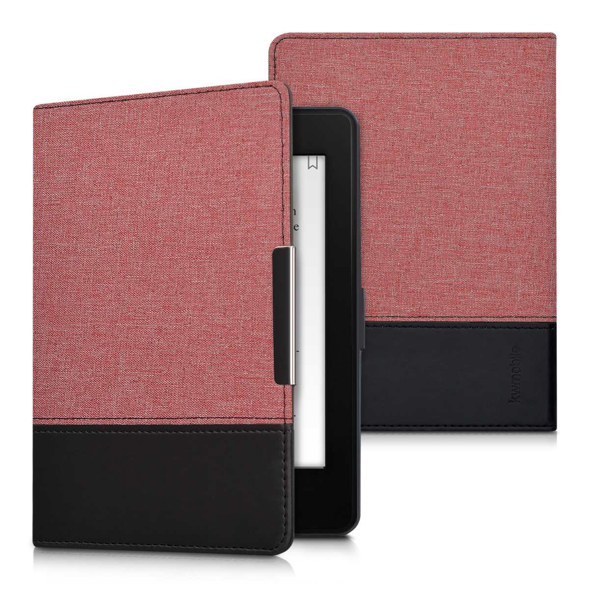 kwmobile case for amazon kindle paperwhite book cover