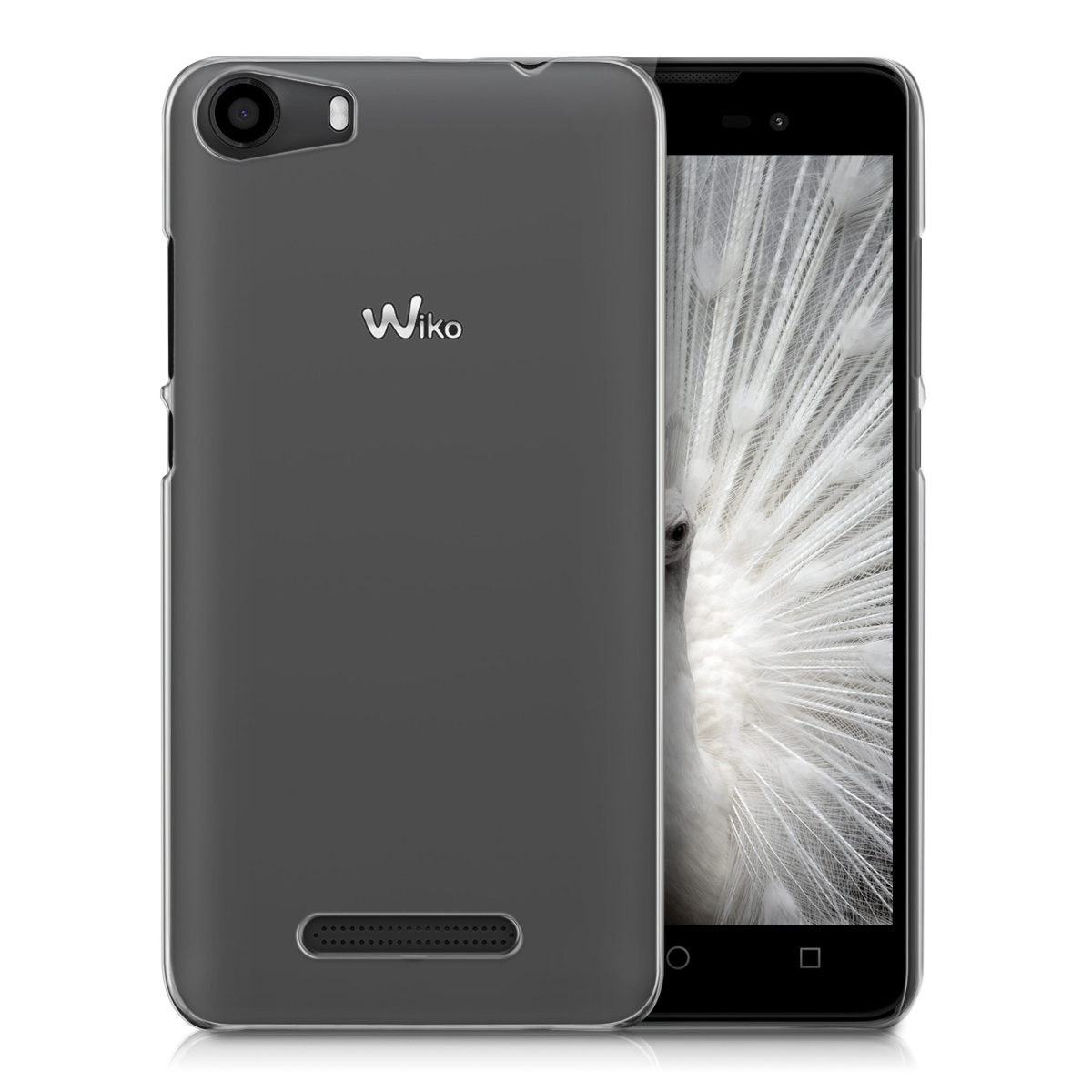 kwmobile crystal case f r wiko lenny 2 transparent schutz. Black Bedroom Furniture Sets. Home Design Ideas