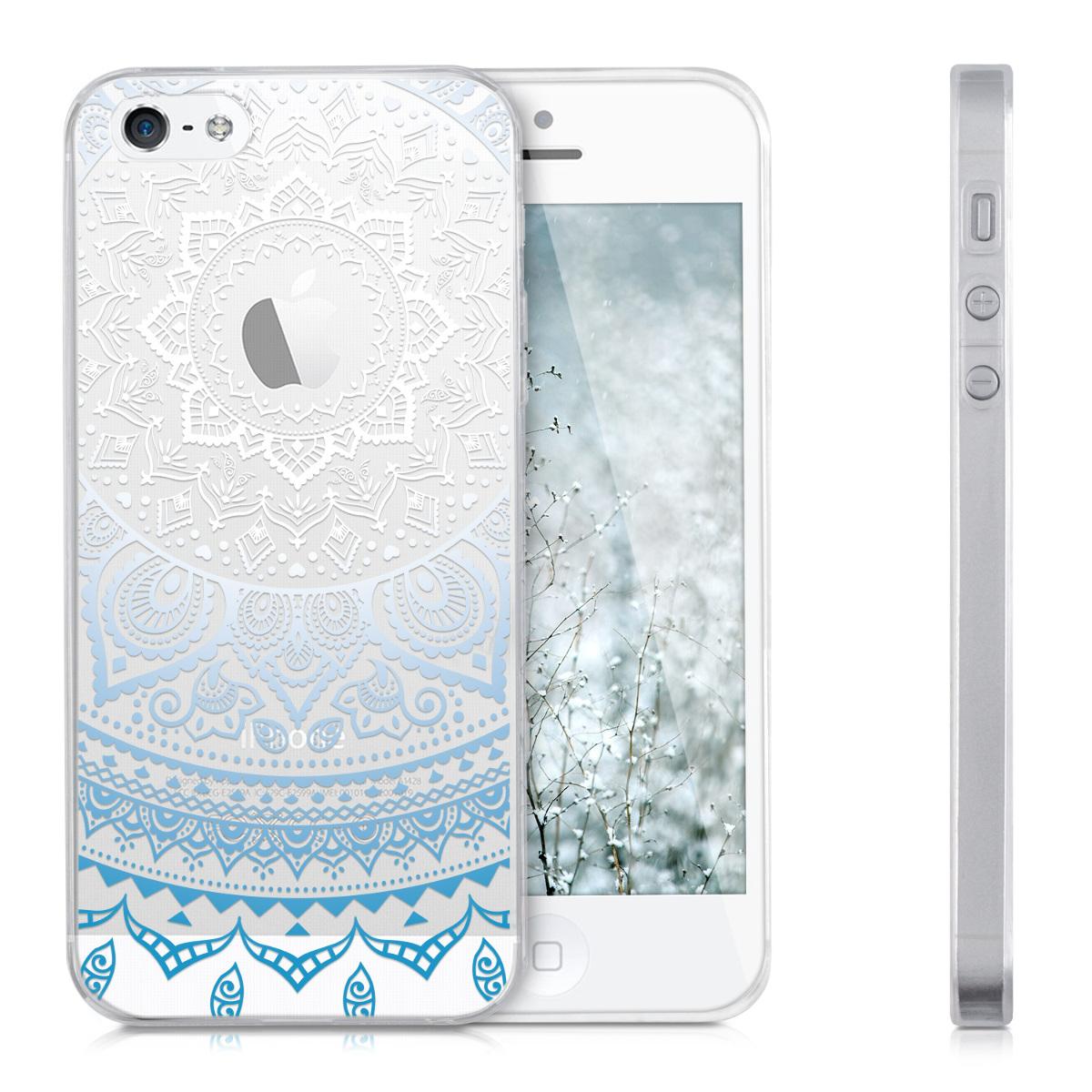 Kwmobile funda para apple iphone se 5 5s color deseado tpu silicona carcasa ebay - Fundas de silicona para iphone 5 ...