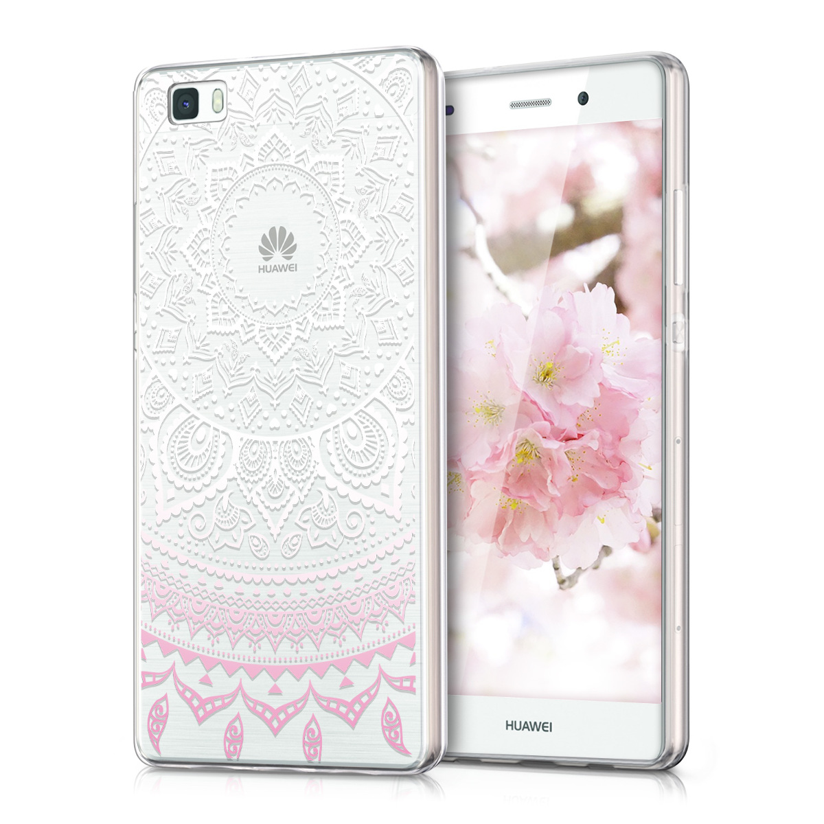 kwmobile TPU SILICONE CRYSTAL CASE FOR HUAWEI P8 LITE SOFT COVER BUMPER SILICON