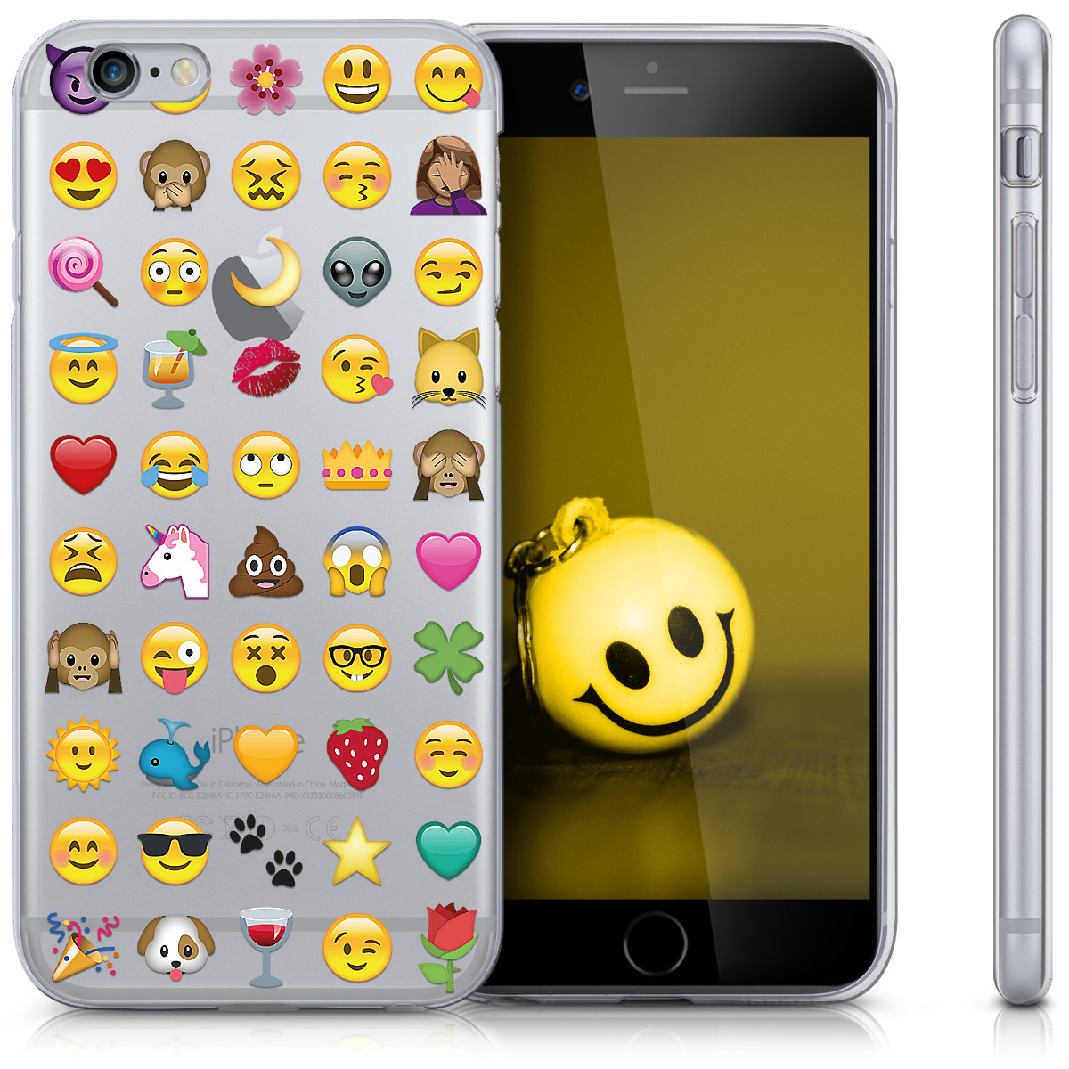 tpu silikon crystal case f r apple iphone 6 6s h lle klar. Black Bedroom Furniture Sets. Home Design Ideas