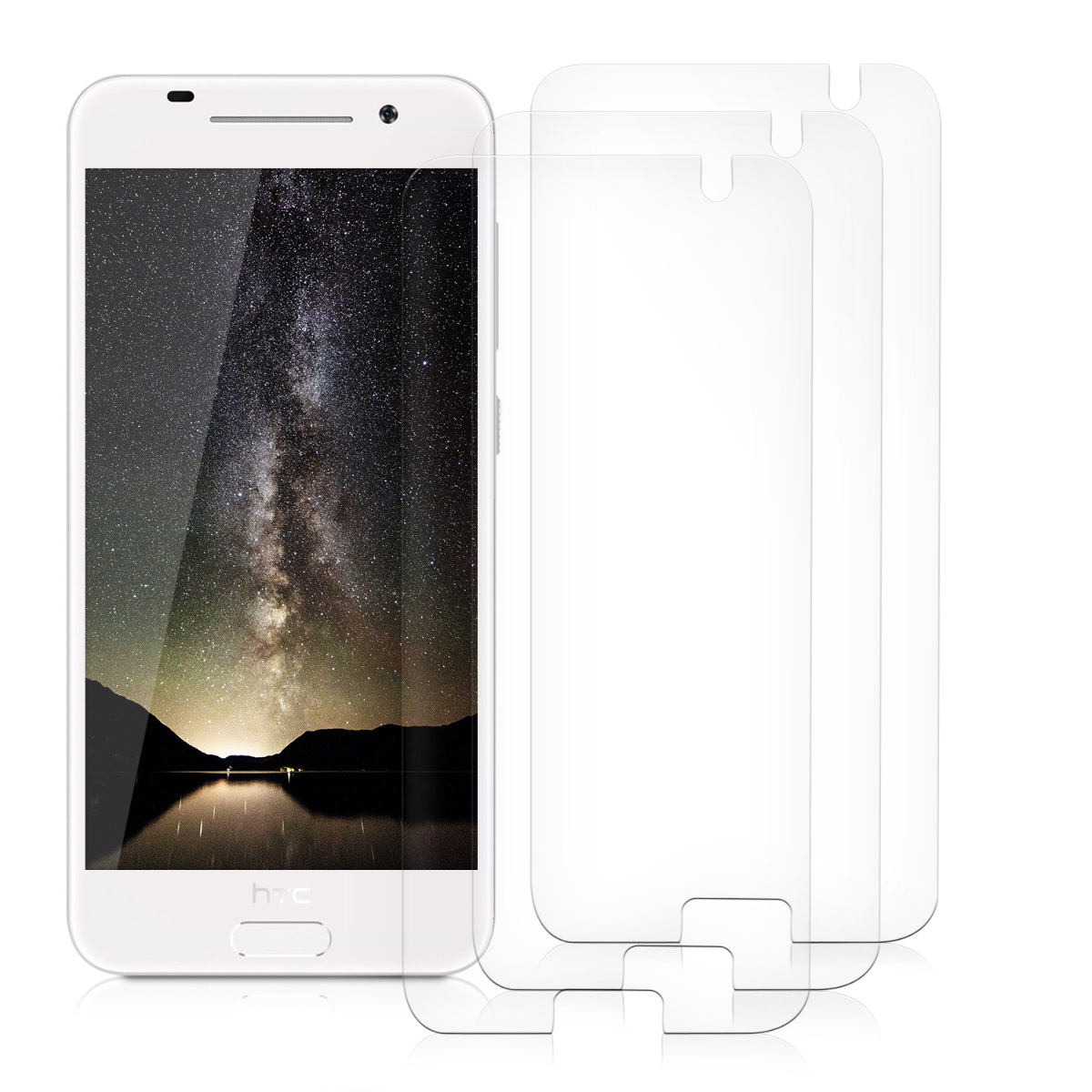 kwmobile-3X-FILM-DE-PROTECTION-ECRAN-POUR-HTC-ONE-A9-GAUFRAGE-DESIRE-LIMPIDE