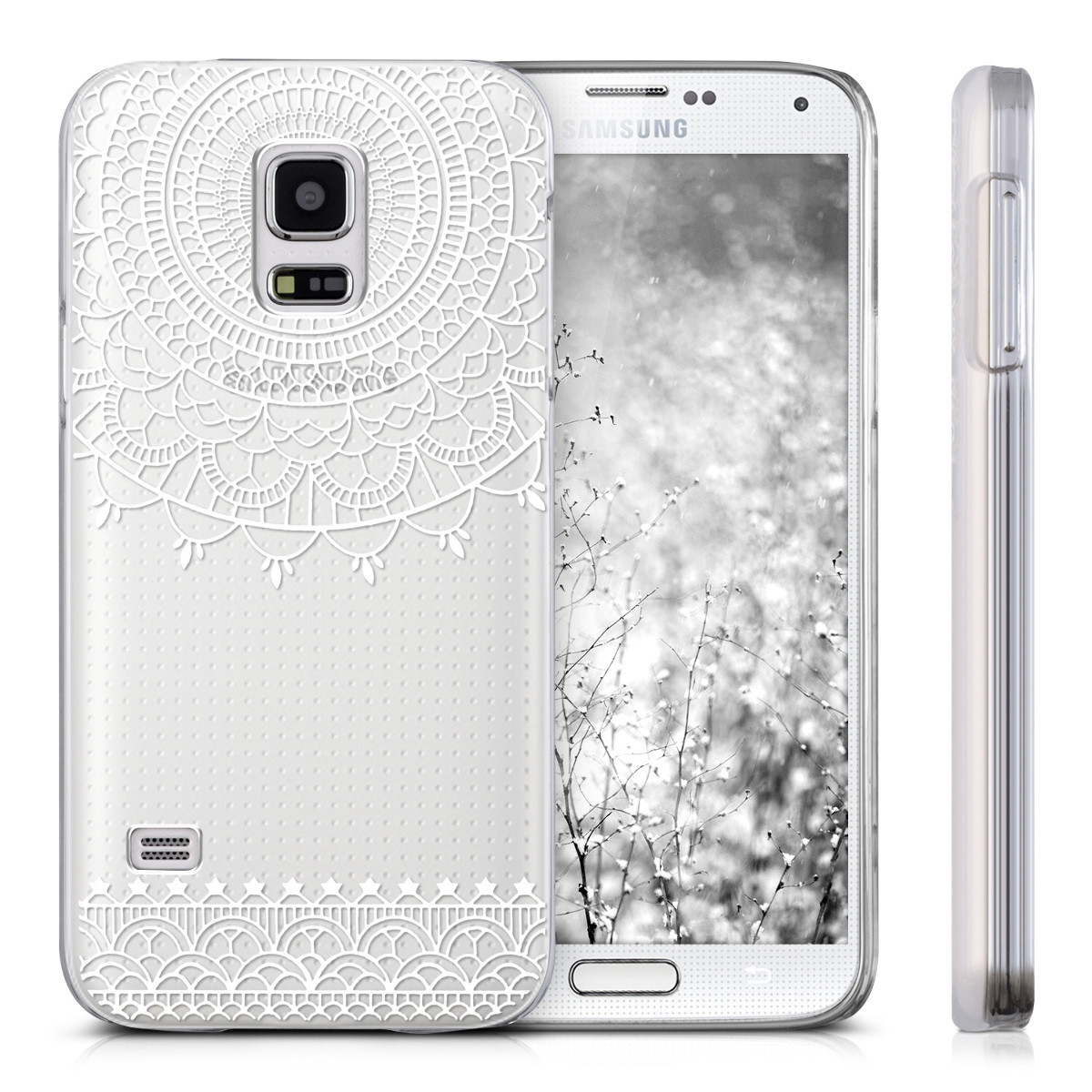 kwmobile-CUSTODIA-RIGIDA-TRASPARENTE-PER-SAMSUNG-GALAXY-S5-MINI-COVER-CASE