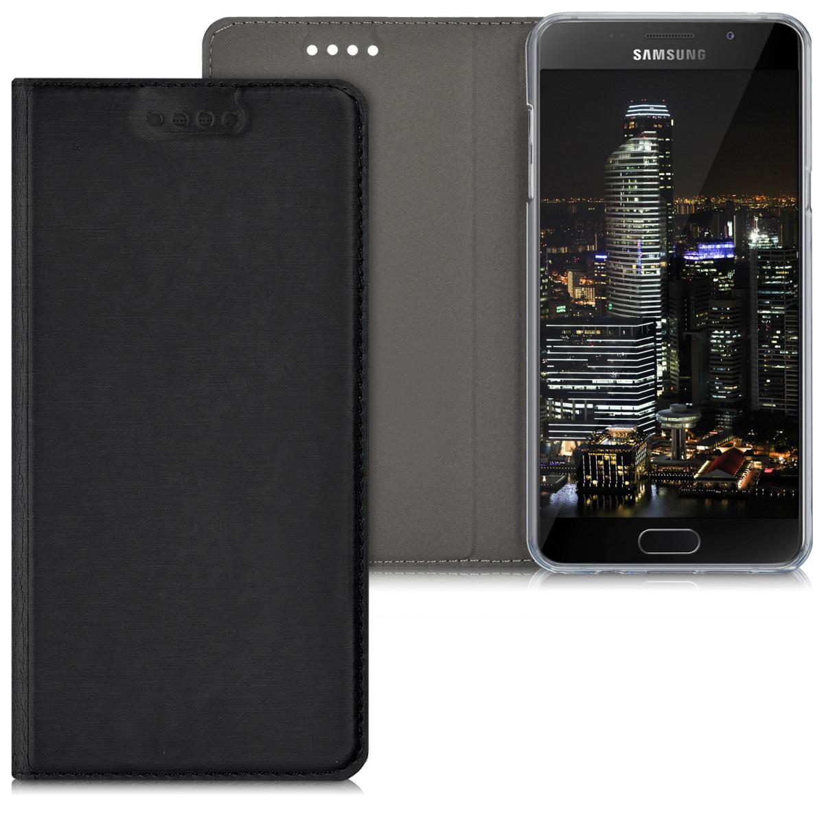 Kvalitní plastové pouzdro pro Samsung A5 (2016) - černé