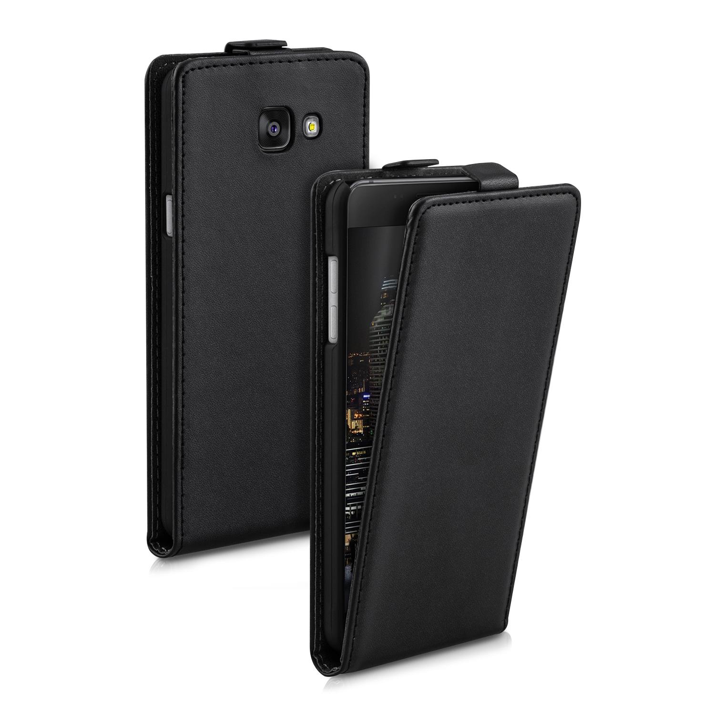 Kožené pouzdro pro Samsung A5 (2016) - černé