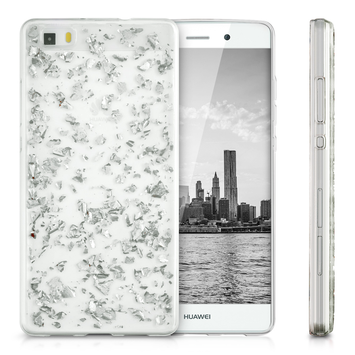 kwmobile-CRYSTAL-CASE-FOR-HUAWEI-P8-LITE-2015-CLEAR-COVER-HARD-CASE