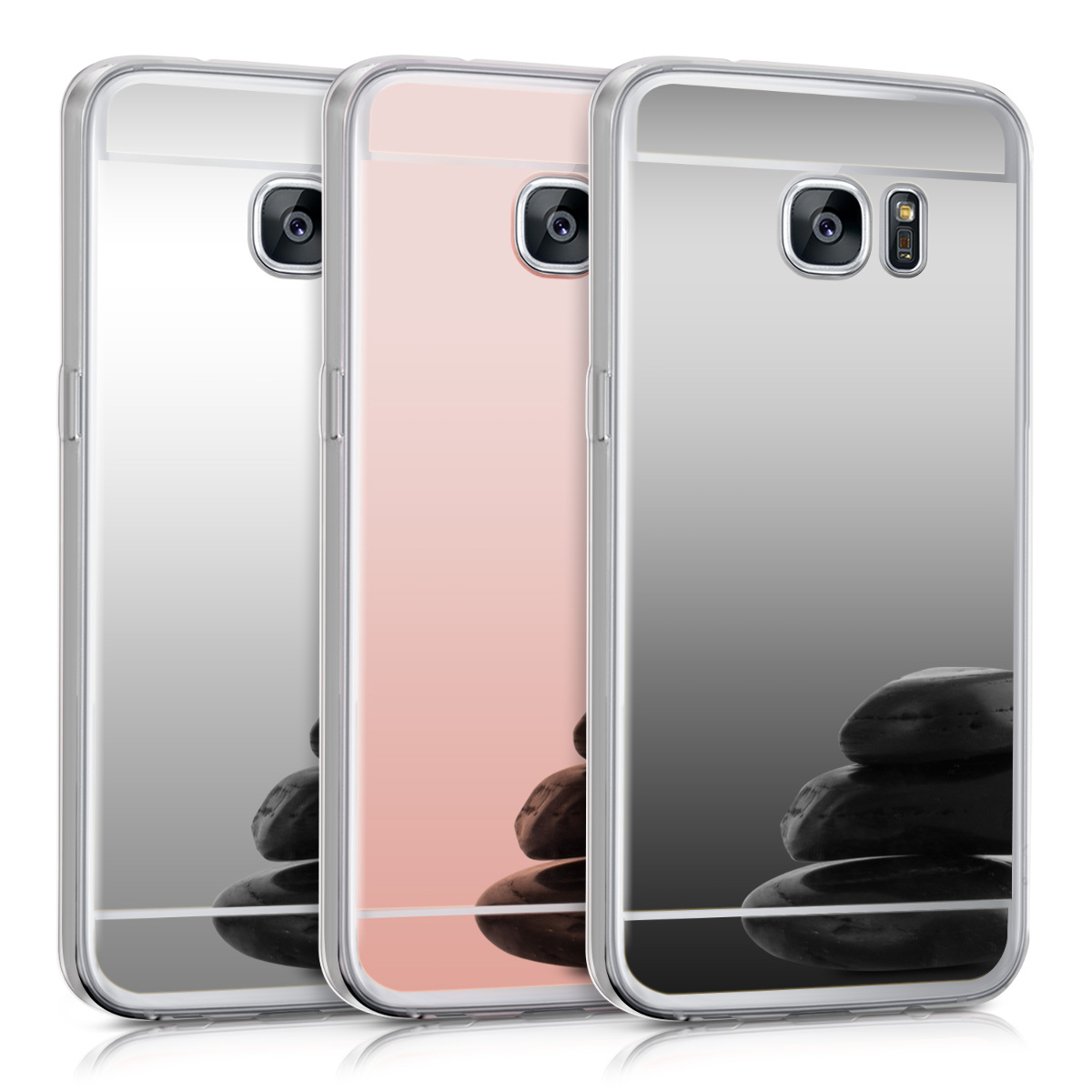 schutzh lle spiegel f r samsung galaxy s7 edge case handy. Black Bedroom Furniture Sets. Home Design Ideas
