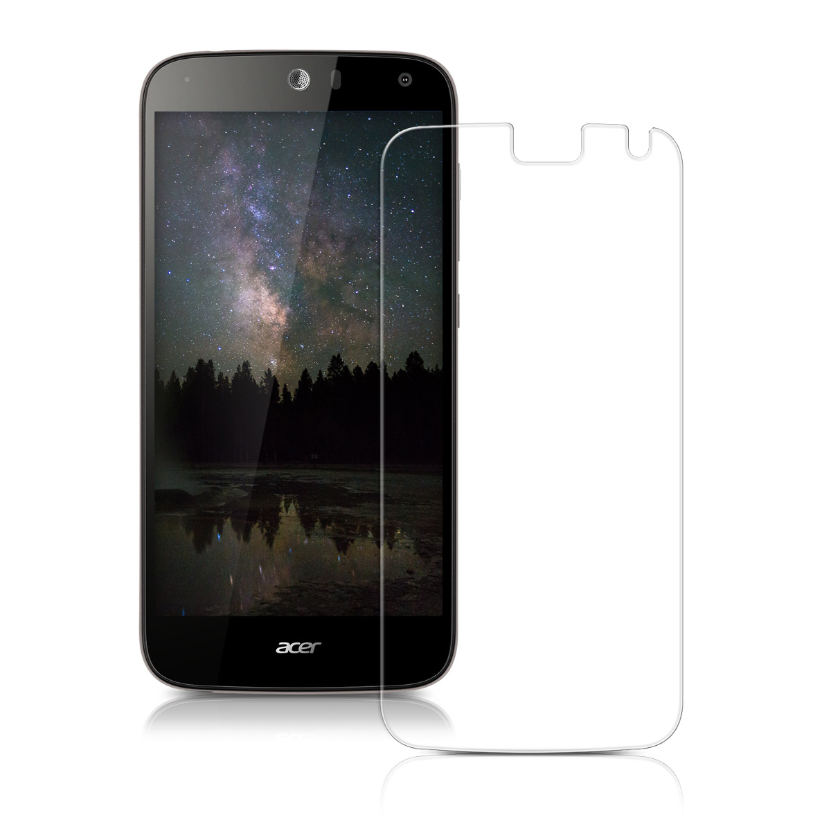 Tempered Glass Screen Protector For Acer Liquid Z630 Ebay E3 E380 Dual Sim Black Kwmobile Crystal Clear Hardened Anti Fingerprint Protective Display Film