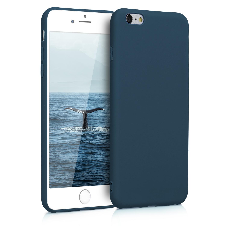 Kvalitní silikonové TPU pouzdro pro Apple iPhone 6 Plus / 6S - Námořnická modrá