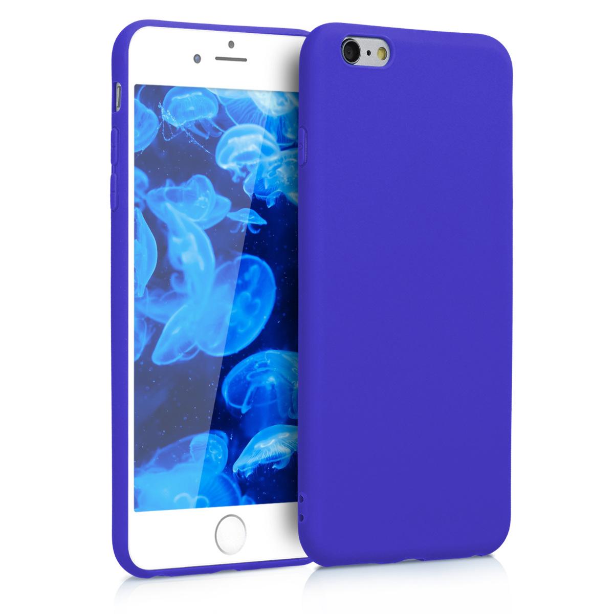 Kvalitní silikonové TPU pouzdro pro Apple iPhone 6 Plus / 6S - Královská modrá