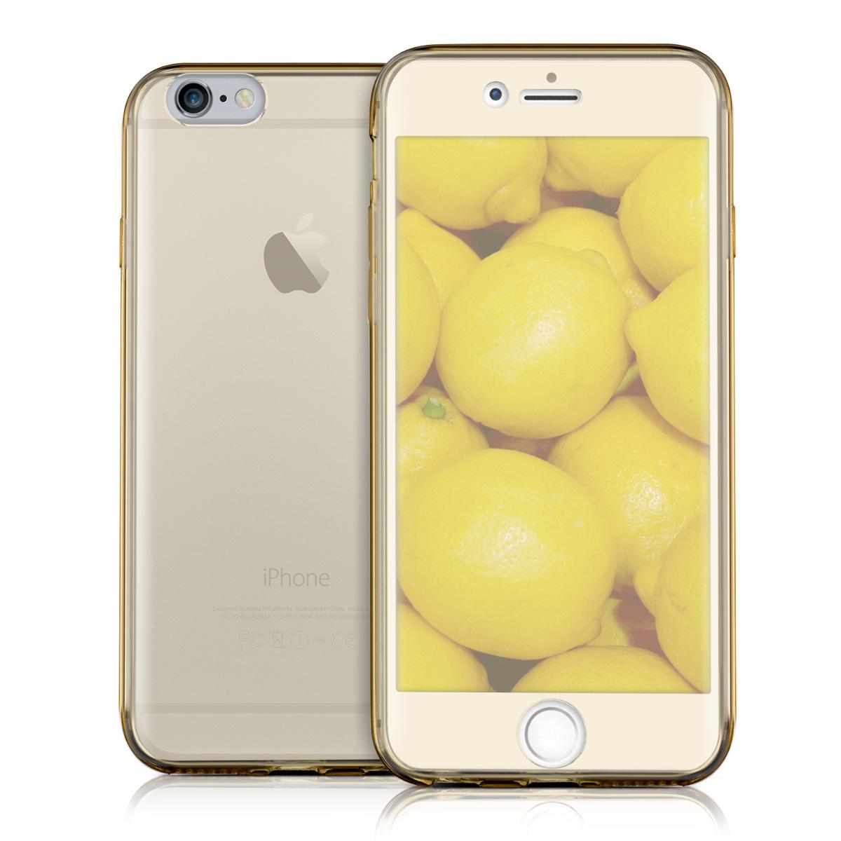 COVER-PER-APPLE-IPHONE-6-6S-CUSTODIA-FRONTE-RETRO-SILICONE