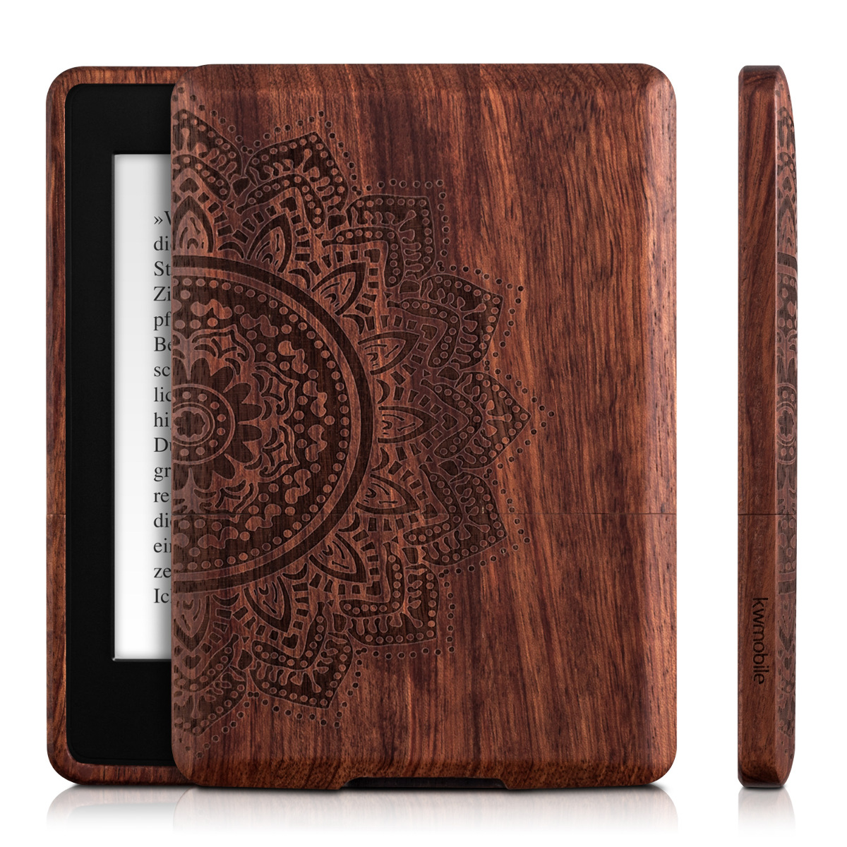 Kindle Paperwhite Book Cover Art : Kwmobile wood case for amazon kindle paperwhite cover