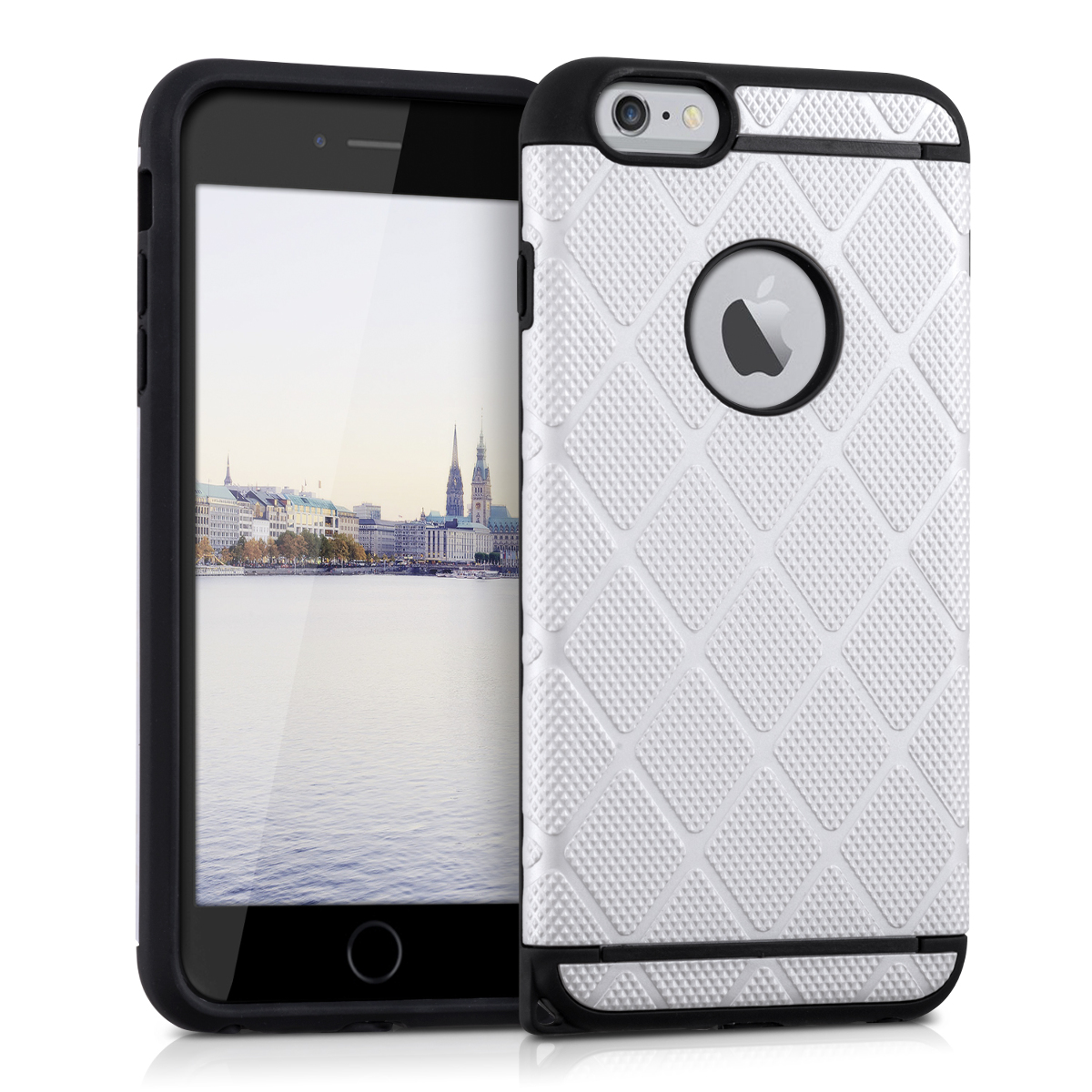 kwmobile  HYBRID PROTECTIVE CASE FOR APPLE IPHONE 6 PLUS / 6S PLUS DUAL CASE