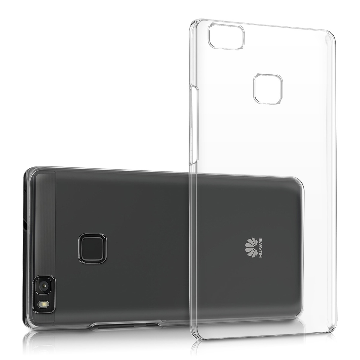 kwmobile HARD CASE CRYSTAL FÜR HUAWEI P9 LITE TRANSPARENT HANDY HÜLLE COVER