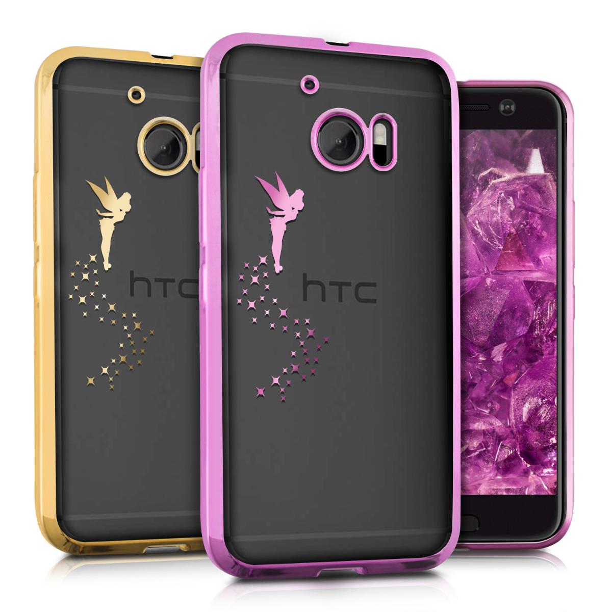 1dd13c5a62f kwmobile Funda para HTC 10 - Carcasa {trasera} de {TPU} con diseño en  {color deseado}