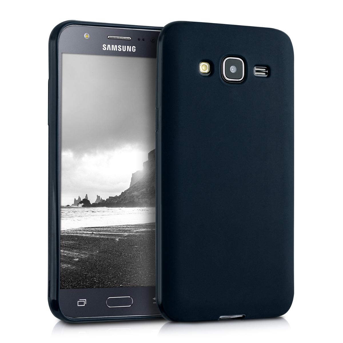 Kvalitní silikonové TPU pouzdro pro Samsung J5 (2015) - černé matné