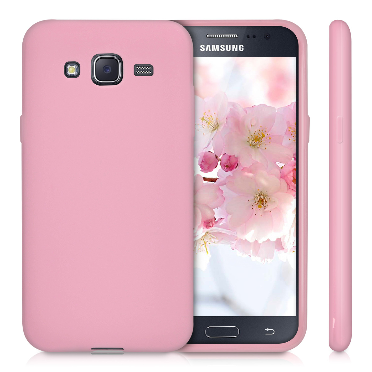 kwmobile tpu silicone cover mat for samsung galaxy j5 2015 soft case silicon ebay. Black Bedroom Furniture Sets. Home Design Ideas