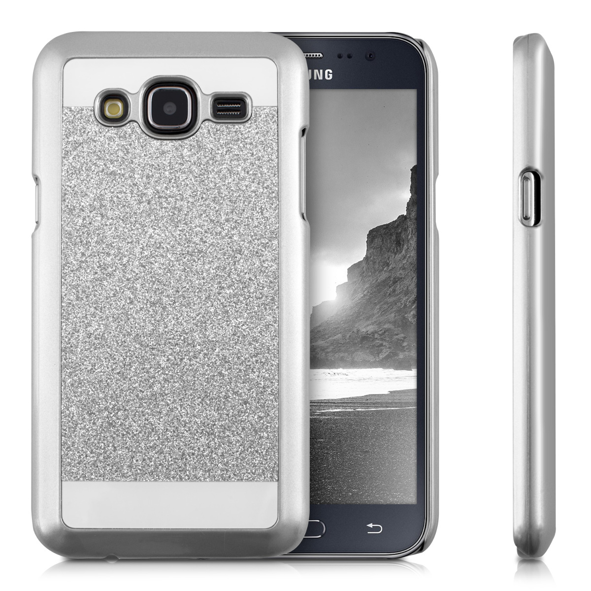 kwmobile hard cover for samsung galaxy j5 2015 desired colour case back shell ebay. Black Bedroom Furniture Sets. Home Design Ideas