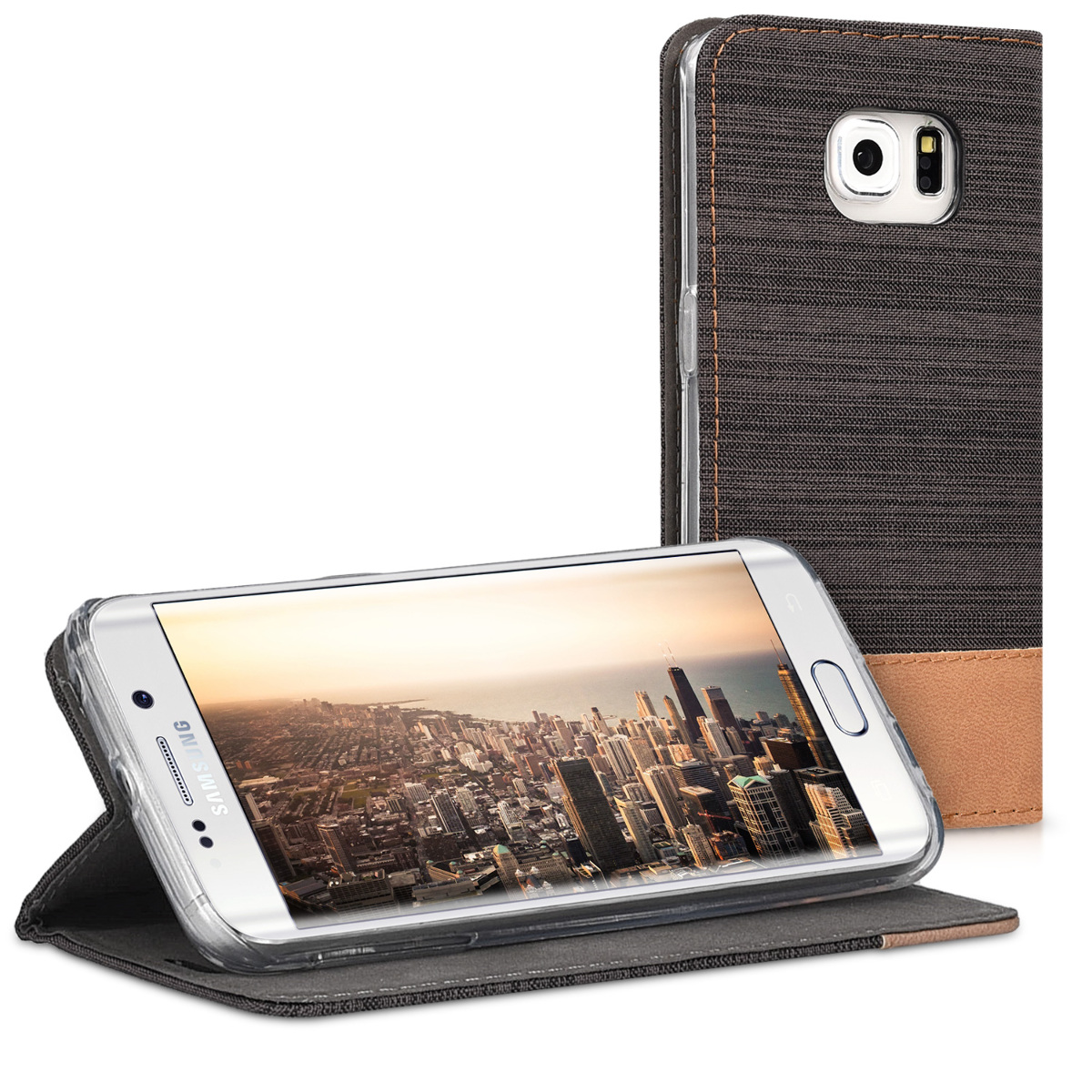 kwmobile-FLIP-PROTECTION-CASE-FOR-SAMSUNG-GALAXY-S6-EDGE-COVER-CASE-BOOKSTYLE