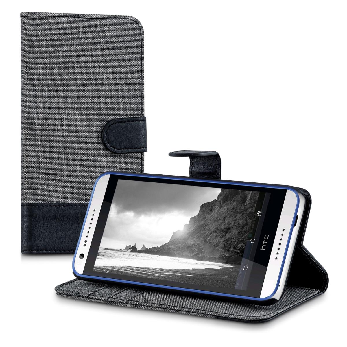 kwmobile-CARTERA-DE-TELA-FUNDA-PROTECTORA-PARA-HTC-DESIRE-620G-COVER-CASE-BAG