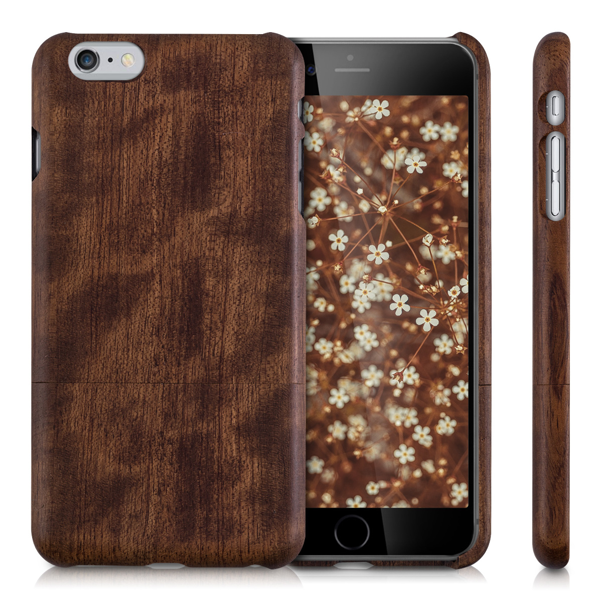 kwmobile-FUNDA-DE-MADERA-PARA-APPLE-IPHONE-6-PLUS-6S-PLUS-NATURAL-CARCASA