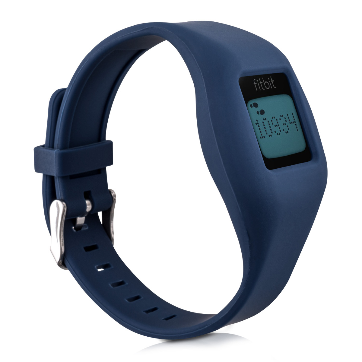 Kwmobile 2x silicone spare bracelet for fitbit zip black fitness clock clasp ebay - Spare time gadgets ...