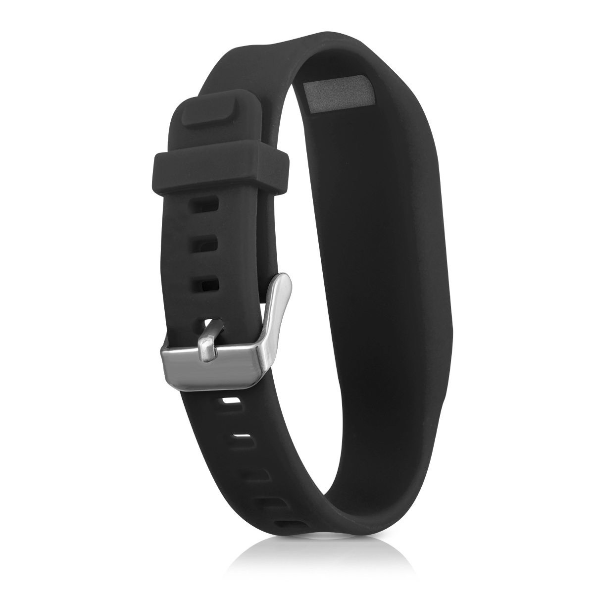 Kwmobile 2x silicone spare bracelet for fitbit one fitness clock clasp flexible ebay - Spare time gadgets ...