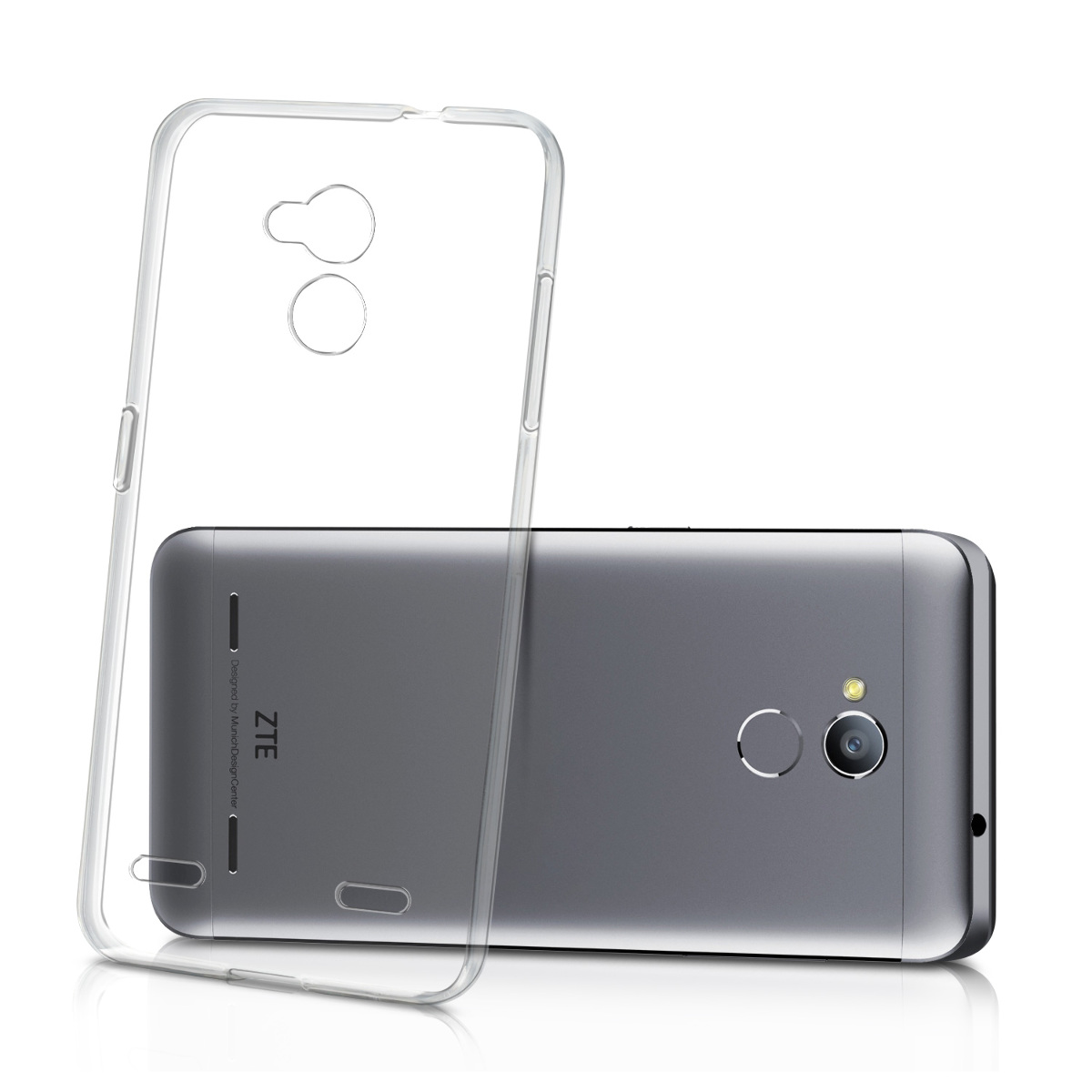 best sneakers 670c0 5386d Details about TPU Silicone Crystal Case for ZTE Blade V7 Lite 5