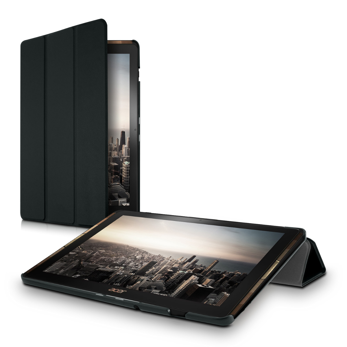 ultra slim cover for acer iconia tab 10 a3 a40 black. Black Bedroom Furniture Sets. Home Design Ideas