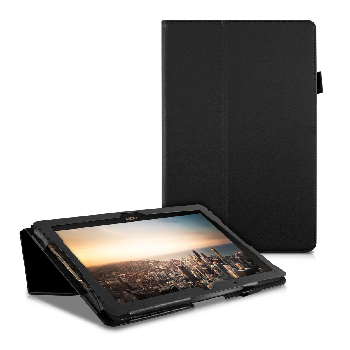 synthetic leather case for acer iconia tab 10 a3 a40 cover with stand tablet ebay. Black Bedroom Furniture Sets. Home Design Ideas