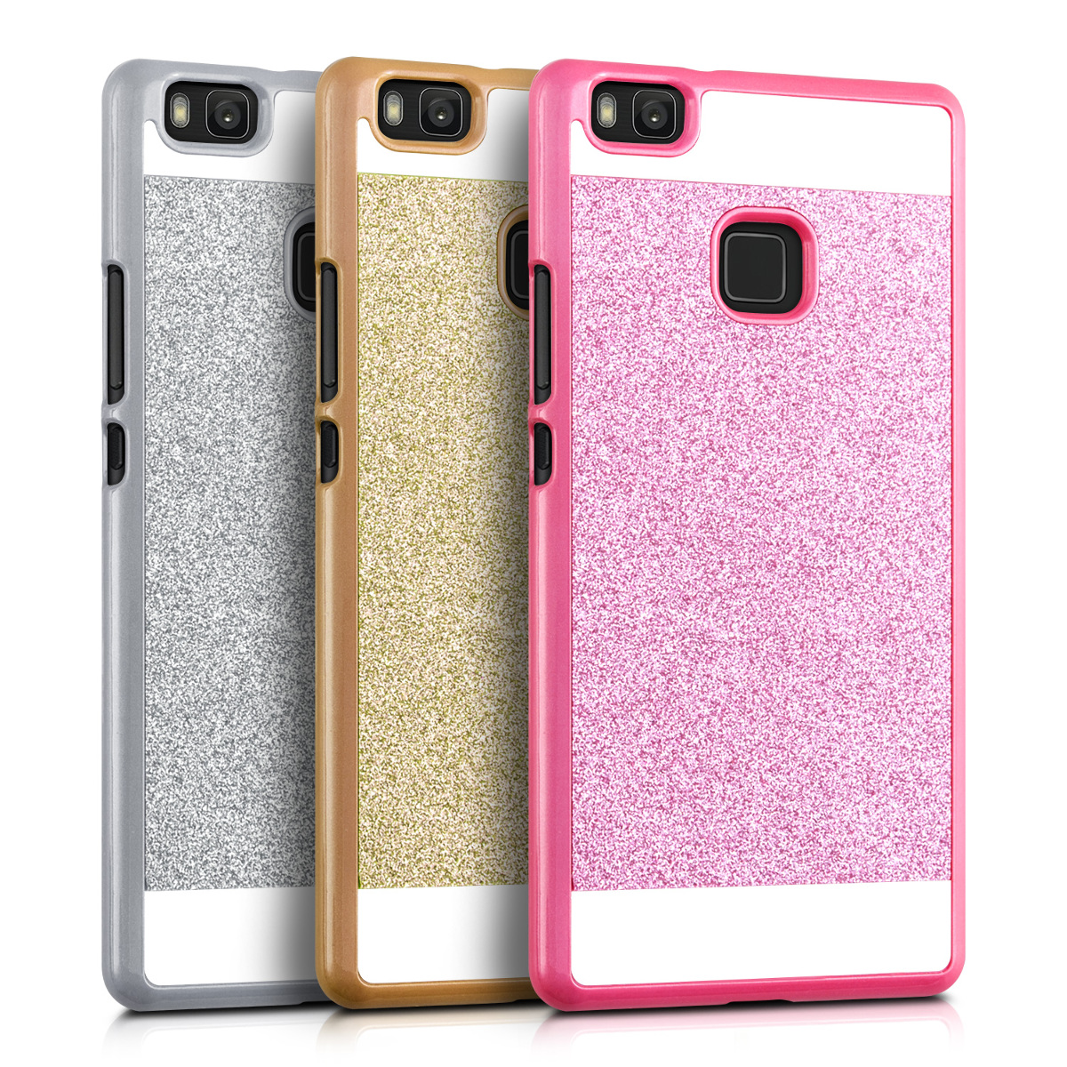 Kwmobile hard cover for huawei p9 lite desired colour case for Photo ecran huawei p9 lite
