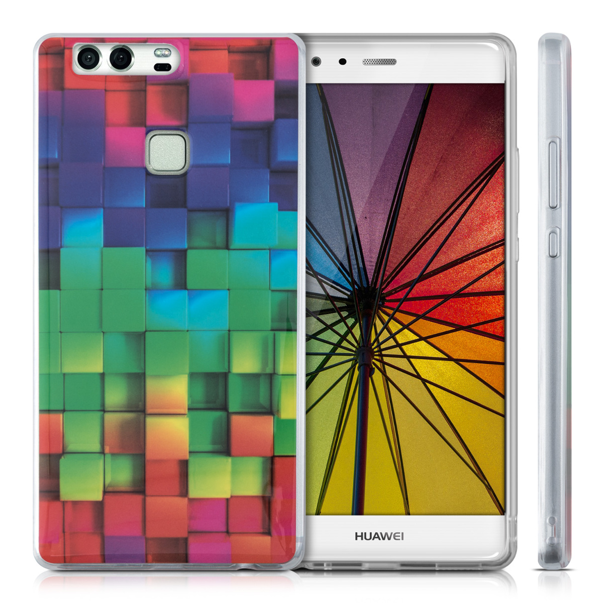 kwmobile-COQUE-POUR-HUAWEI-P9-PLUS-HOUSSE-HOUSSE-SILICONE-PROTECTION