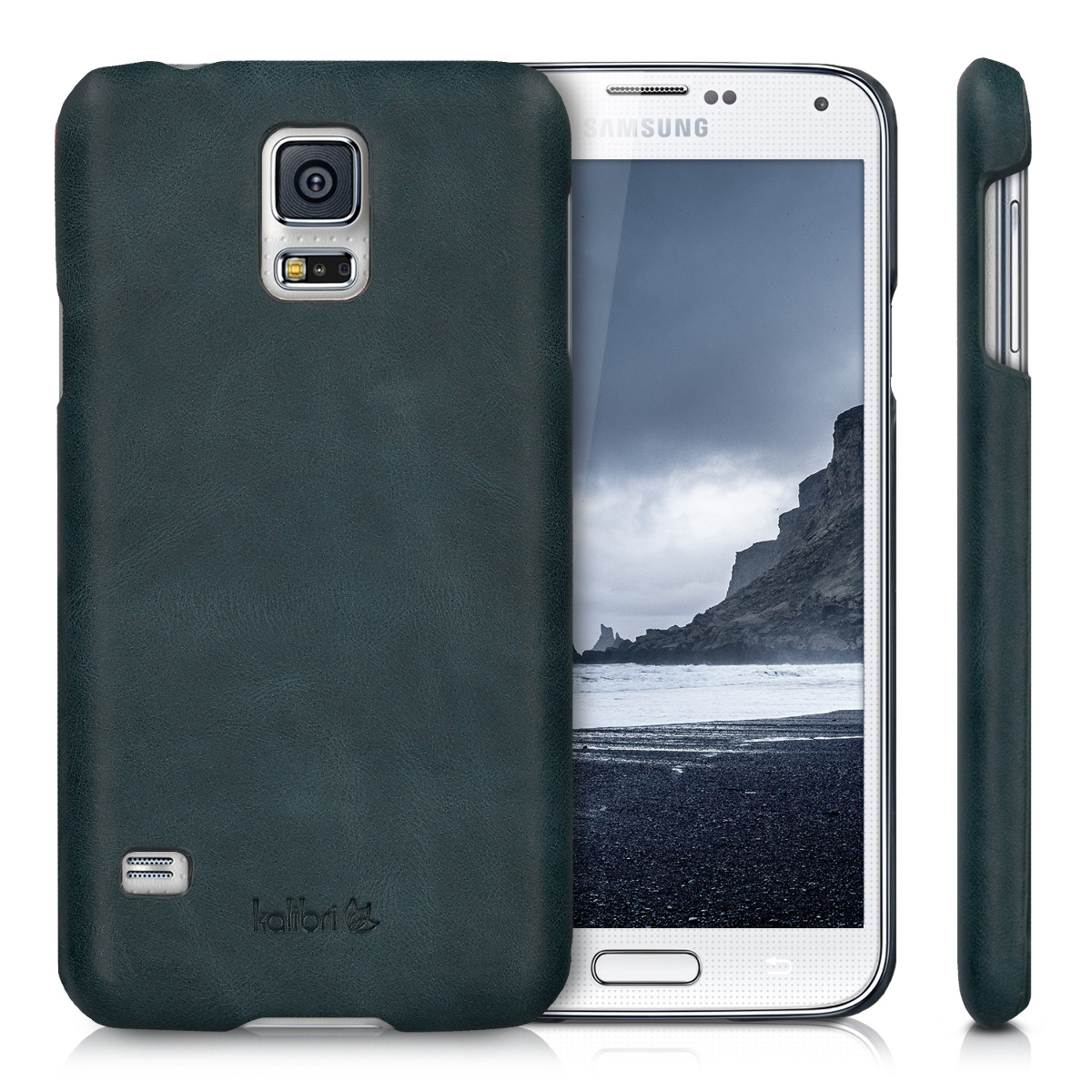 leather case for samsung galaxy s5 s5 neo s5 duos back. Black Bedroom Furniture Sets. Home Design Ideas