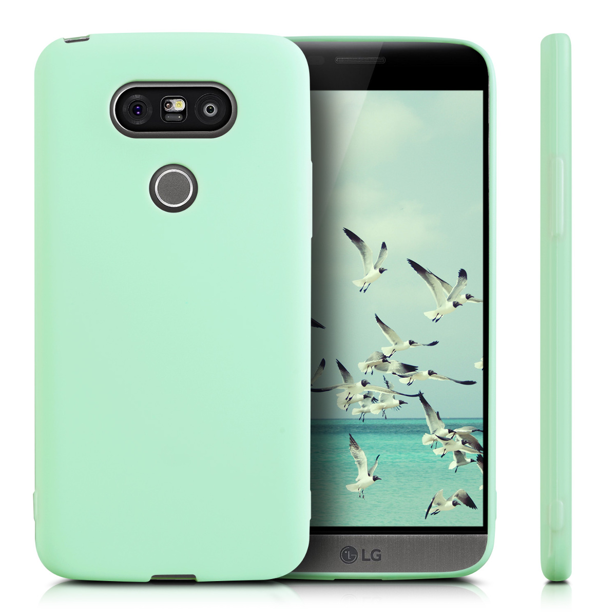 kwmobile tpu silicone cover for lg g5 g5 se soft case. Black Bedroom Furniture Sets. Home Design Ideas
