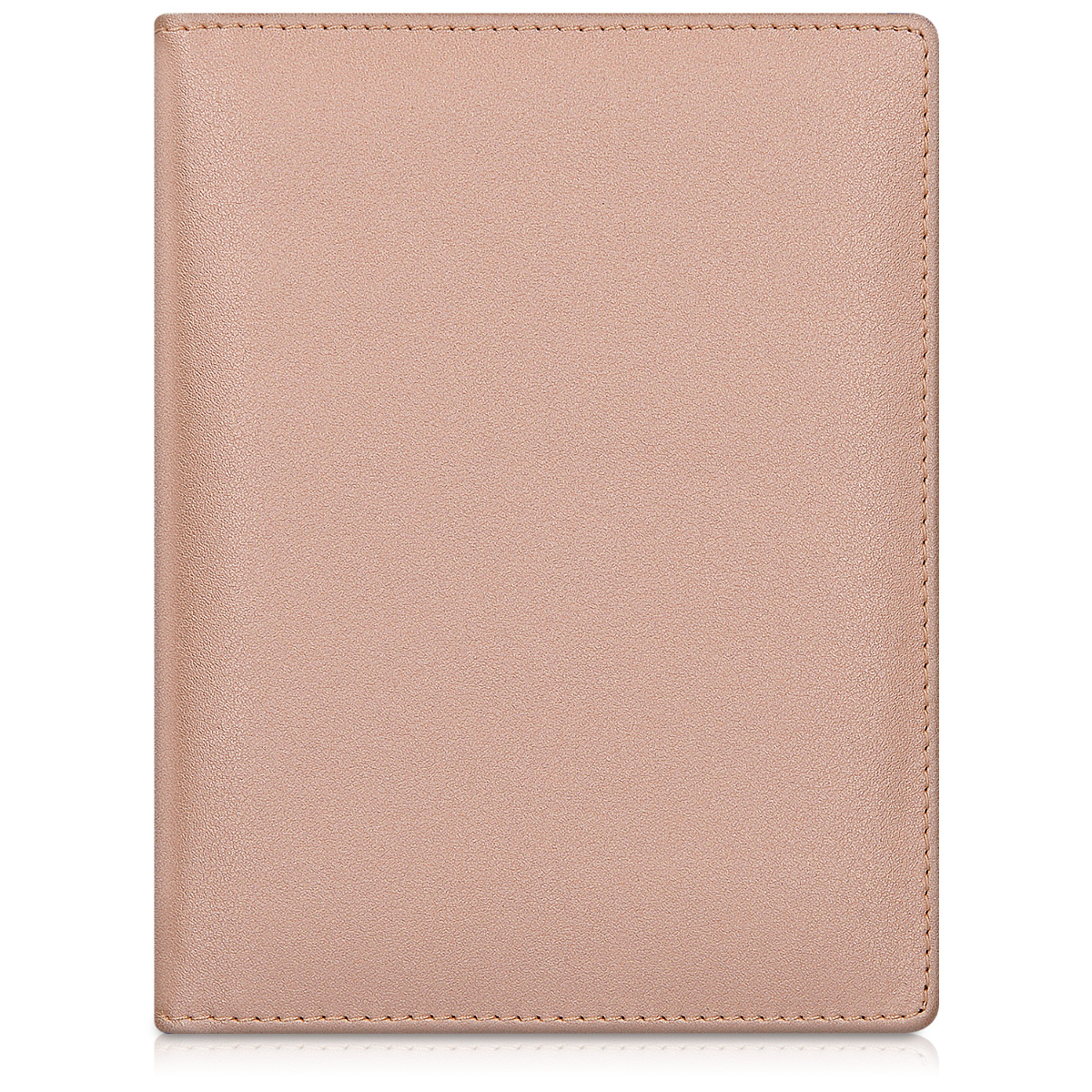9db2794c87cf Details about PU Leather Passport Holder Travel Wallet in Rose Gold