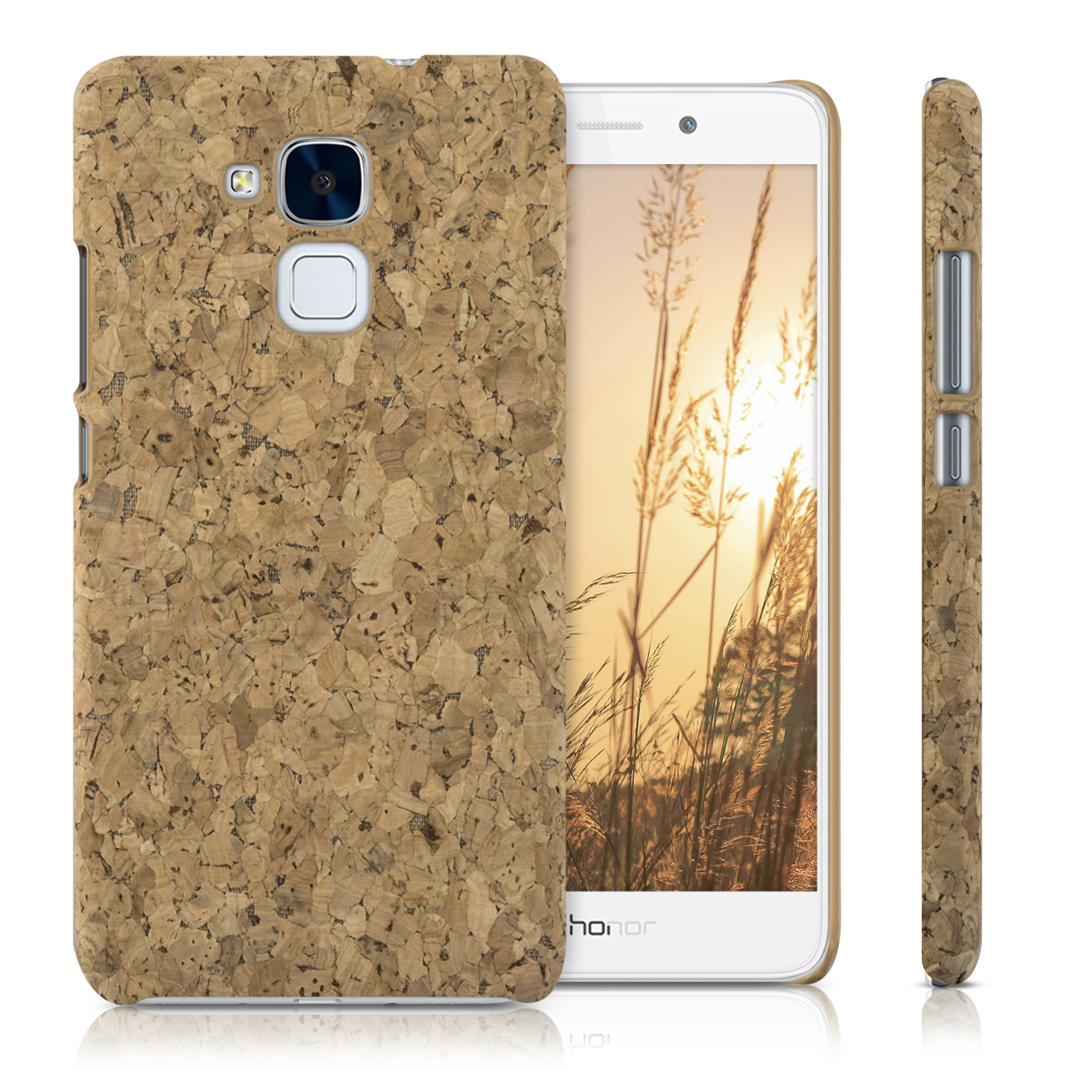 kwmobile-COQUE-DURE-AVEC-LIEGE-POUR-HUAWEI-HONOR-5C-COVER-HOUSSE-PROTECTION