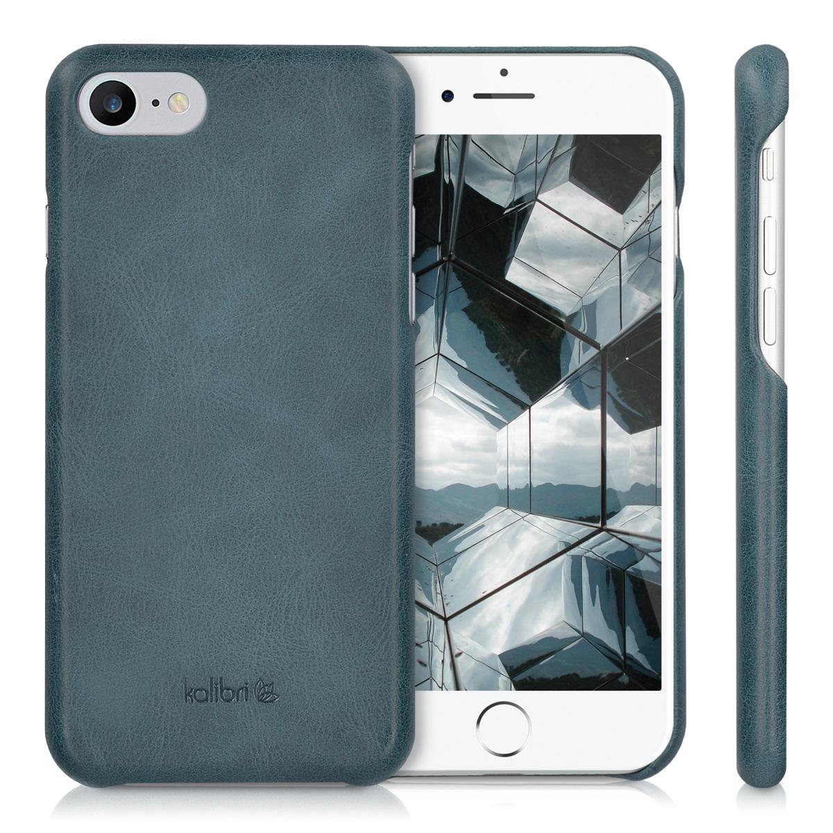 genuine leather hard case back cover for apple iphone 7 8. Black Bedroom Furniture Sets. Home Design Ideas