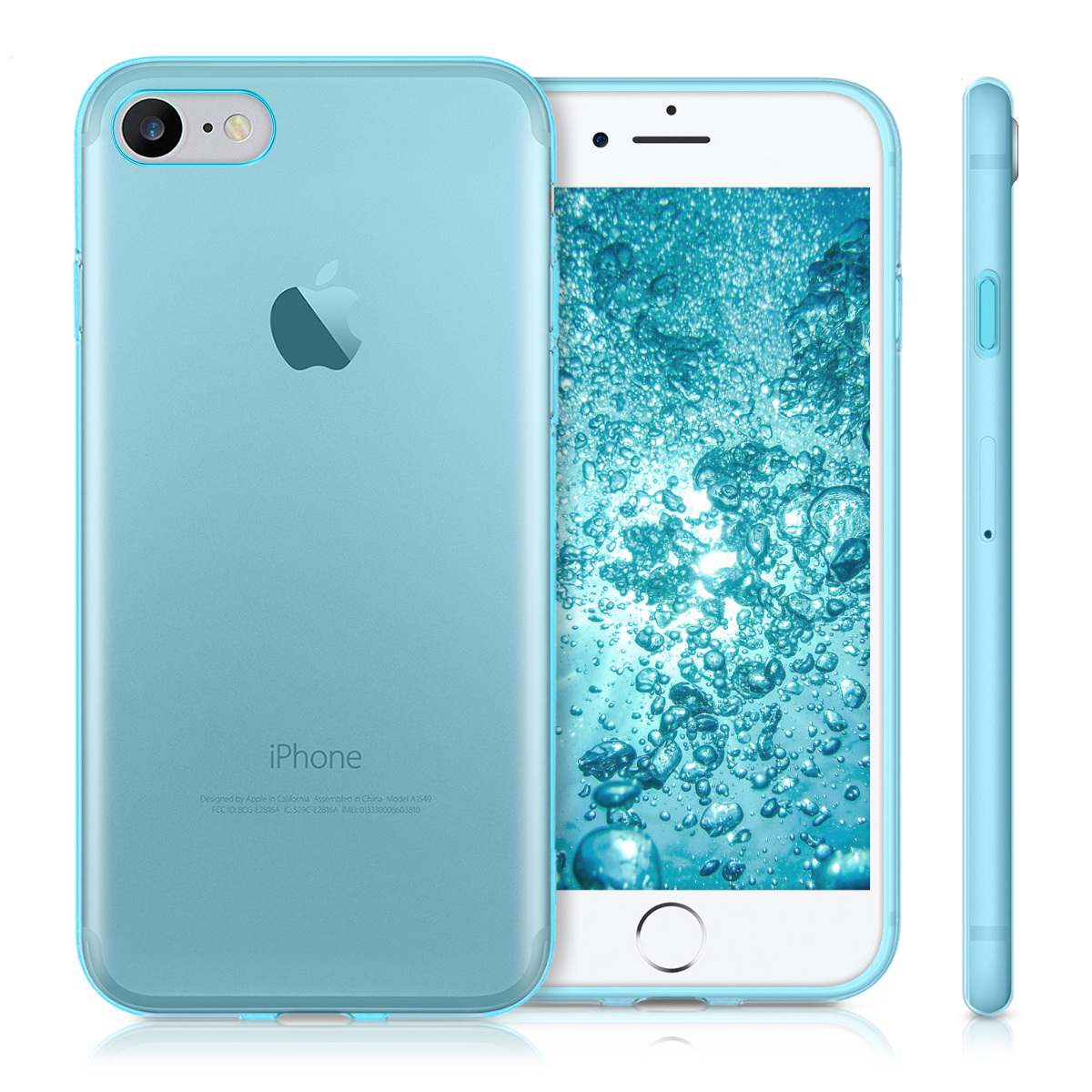 Kwmobile funda de tpu silicona para apple iphone 7 4 7 carcasa protectora ebay - Fundas iphone silicona ...