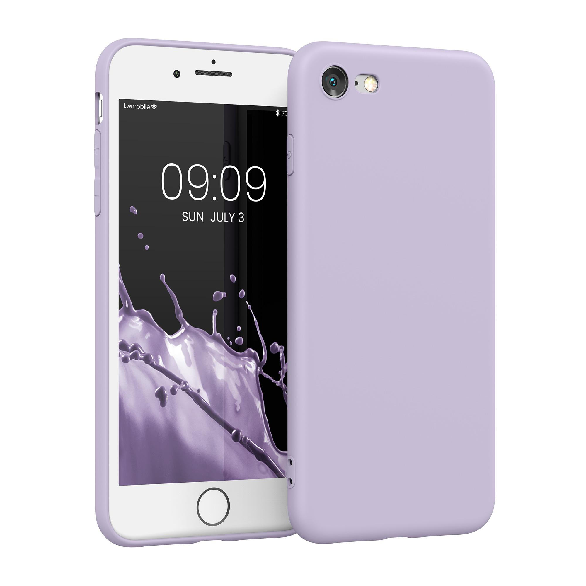 Kvalitní silikonové TPU pouzdro pro Apple iPhone 7 / 8 / SE  - Levandule