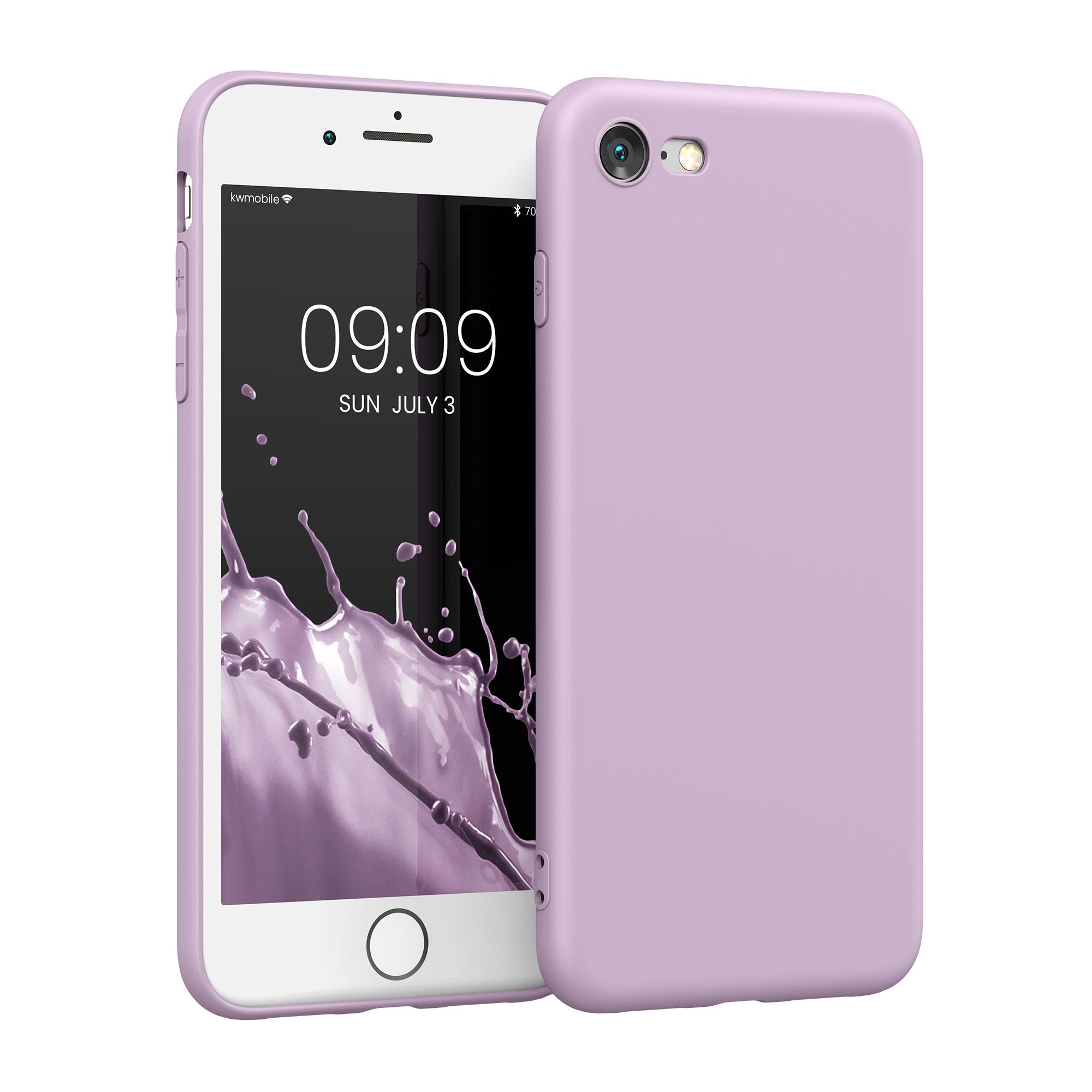 Kvalitní silikonové TPU pouzdro pro Apple iPhone 7 / 8 / SE  - Nafialovělý